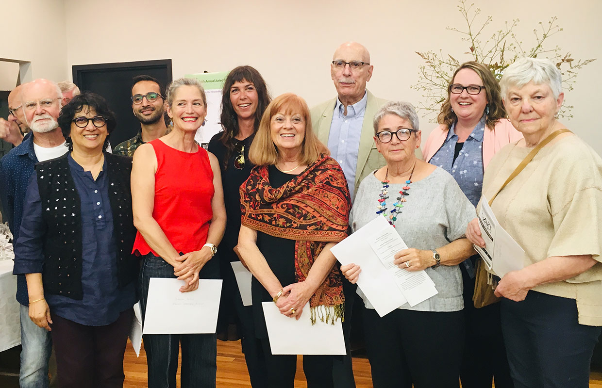 2019 Art In The County Winners Group Photo