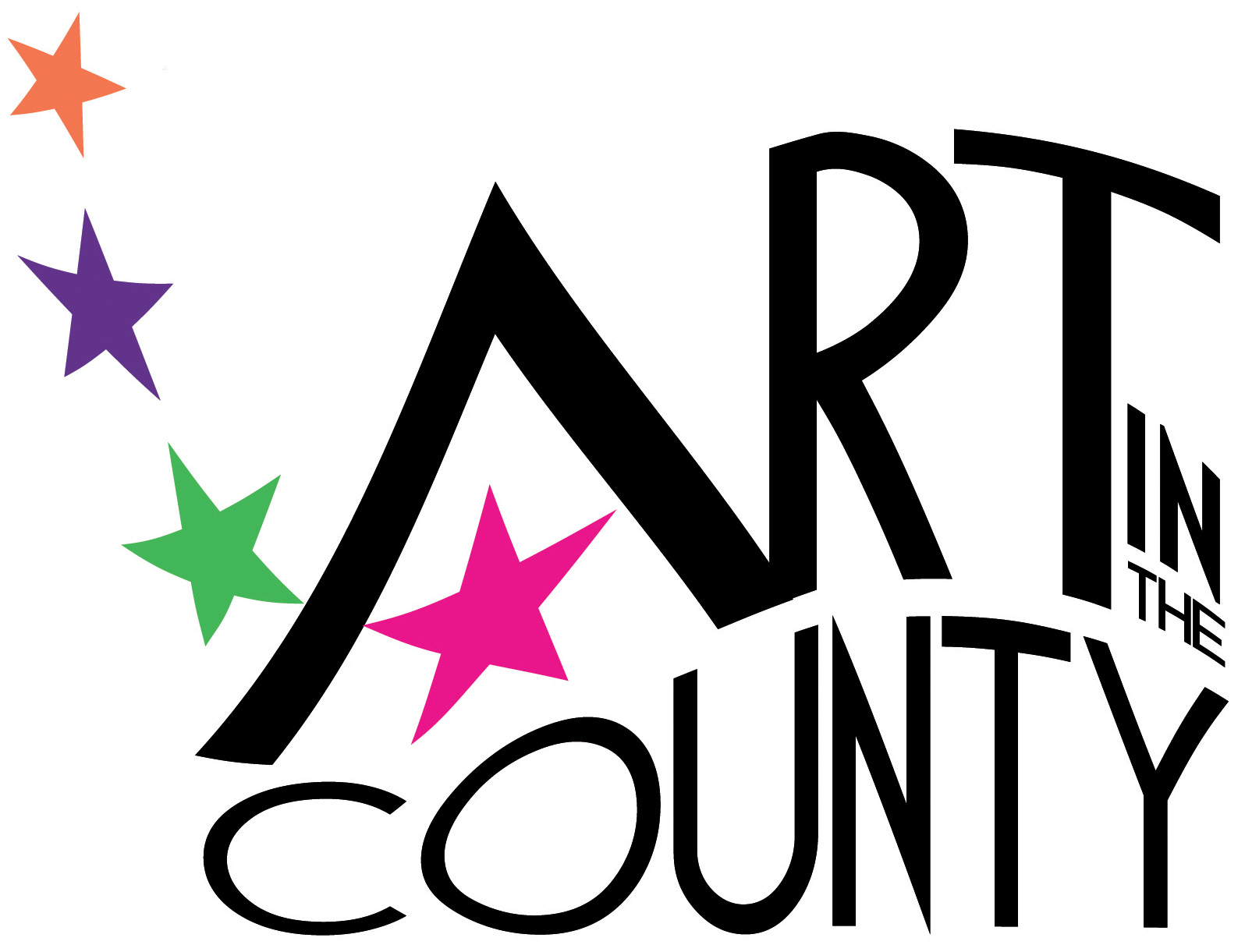 Art in the County logo for Press use