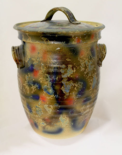 David Scott, Bread Crock 2, Stoneware