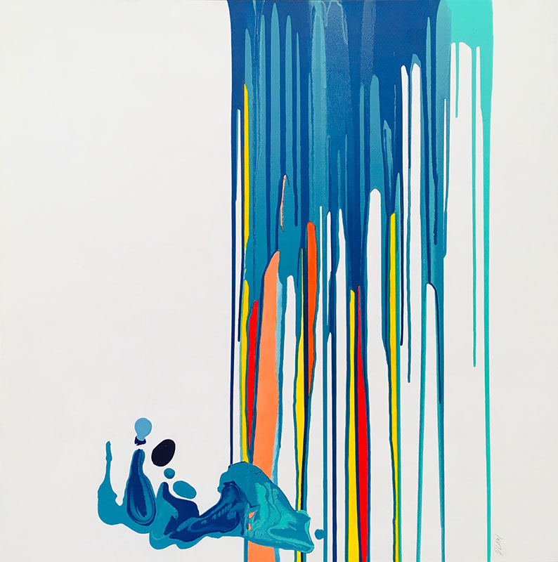 Dayna Law - Slip Slidin' Away - Acrylic