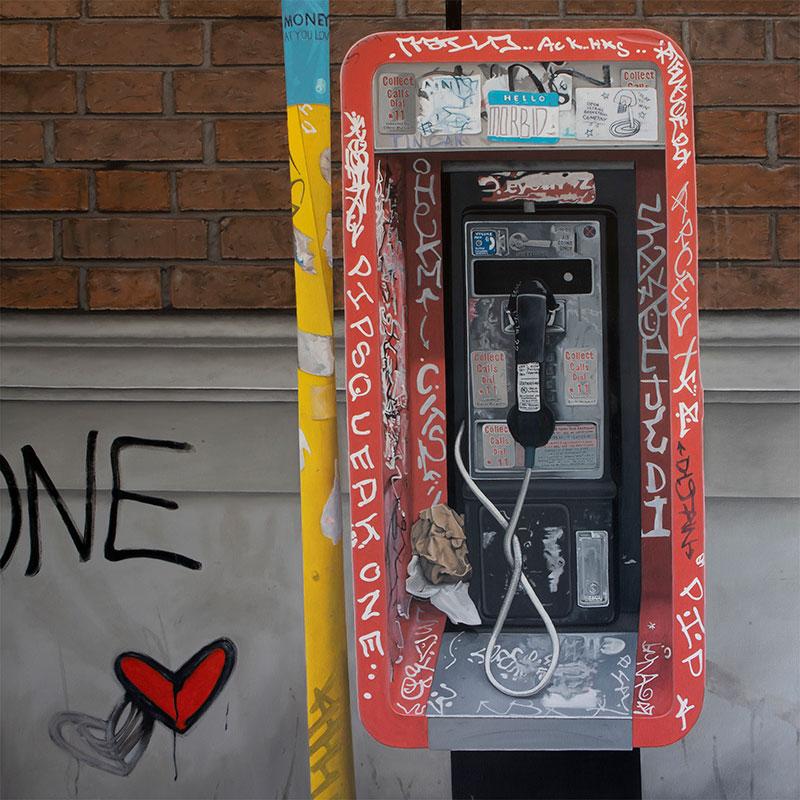Holly Crain - One Love – 511 Dundas St W - Oil on canvas