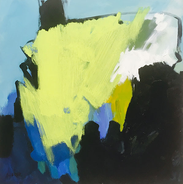 Dianne Kehoe – Revelling in Energy II - Acrylic