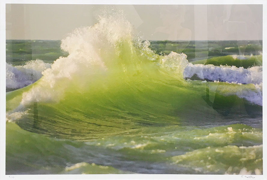 Rick Mathews – Green Wave - Photography